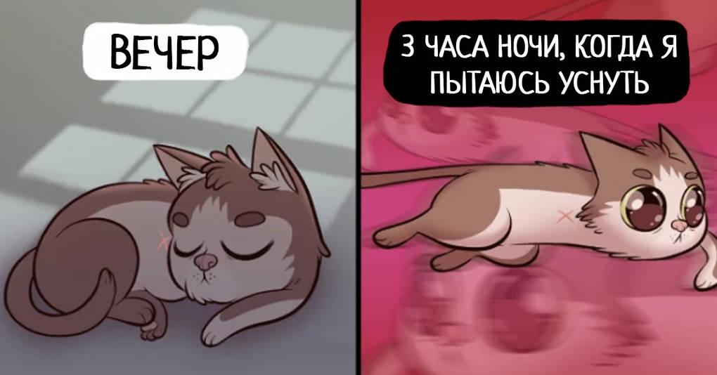 15 комиксов, которые вам захочется показать своему коту