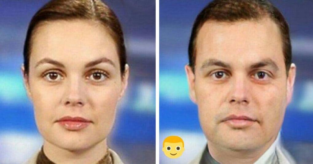 Как бы выглядели знаменитые женщины, будь они мужчинами