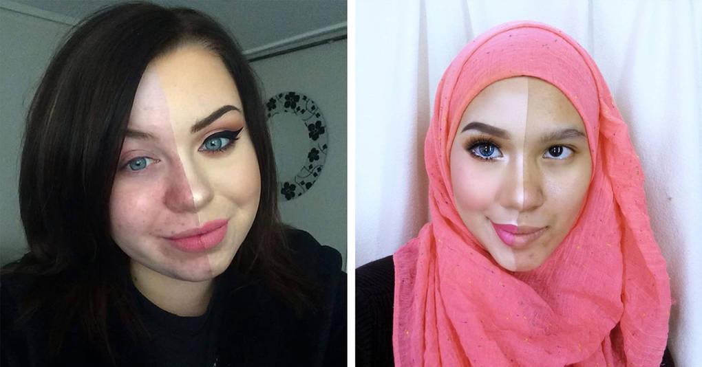 17 фотографий, которые докажут вам, что макияж способен на многое