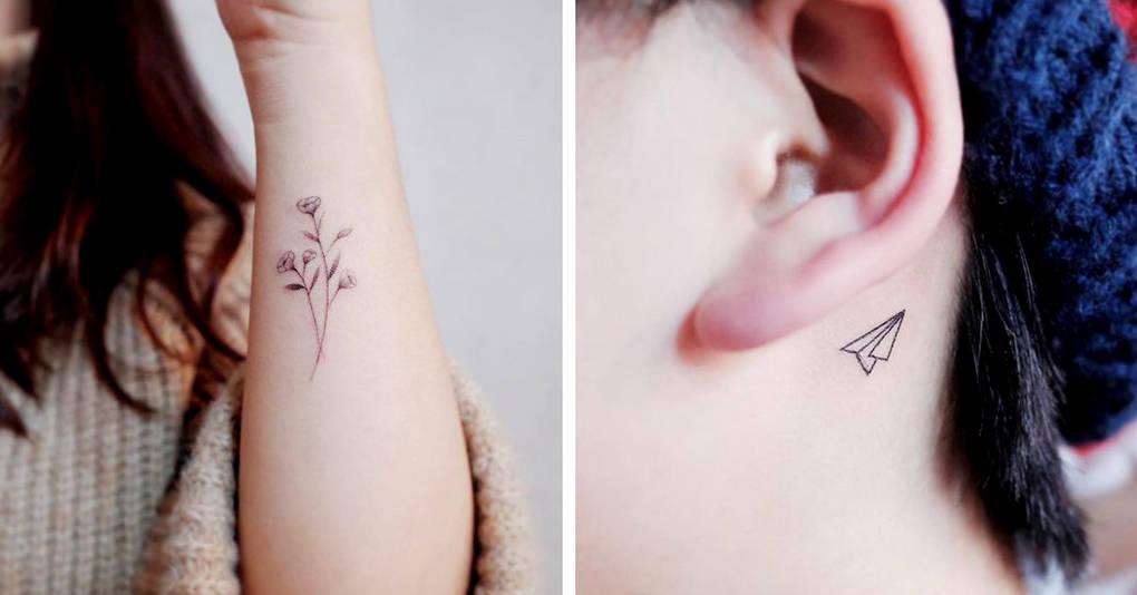 Крошечные татуировки для тех, кто любит минимализм