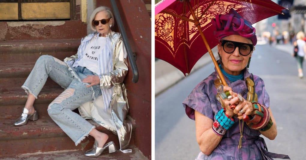 25 пожилых дам с отменным вкусом, которые докажут вам, что возраст стилю не помеха