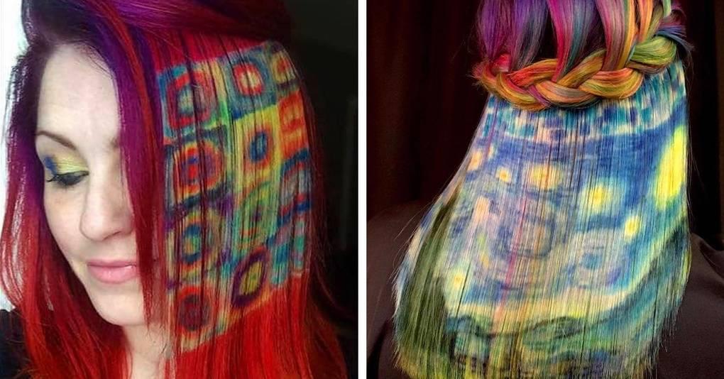 Этот стилист использует волосы как холст, создавая на них настоящие шедевры
