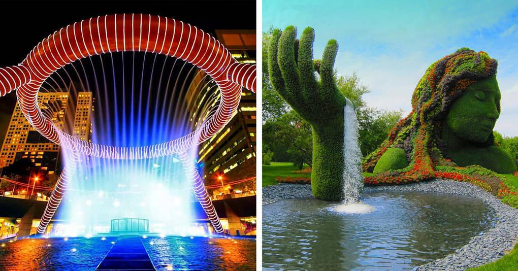 23 самых удивительных фонтана, которые стоит увидеть своими глазами