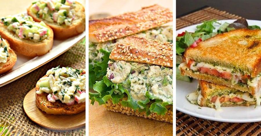 7 безумно вкусных бутербродов на завтрак для удачного начала дня