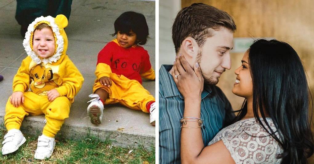 Этот парень пообещал подруге жениться на ней, когда они вырастут, и вот к чему это привело