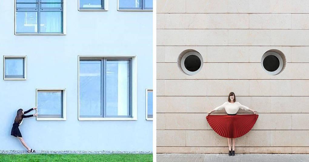 Эти двое путешествуют по миру, создавая замысловатые снимки архитектуры
