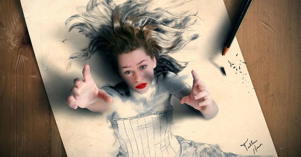 15 реалистичных картин, герои которых могут «выскочить» на тебя в любой момент