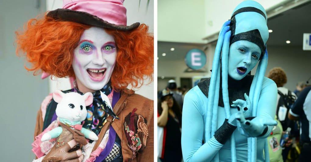 20 мастерских перевоплощений в известных киногероев с фестиваля Comic Con
