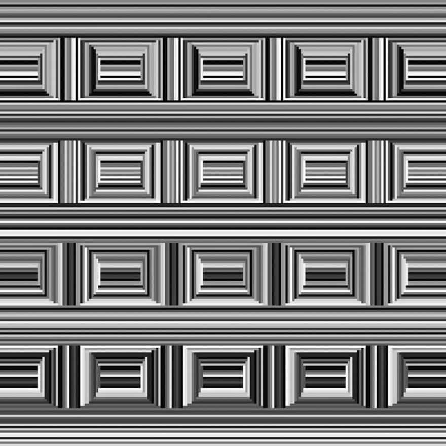 На этой кртинке 16 кругов, но большинство людей не могут их увидеть.