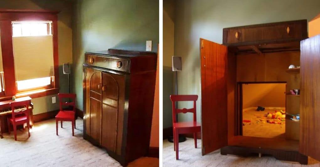 15 потайных комнат, которые хотел бы иметь в собственном доме каждый