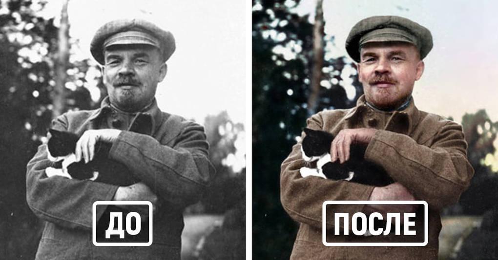 15 исторических фотографий, которых вы даже не представляли цветными