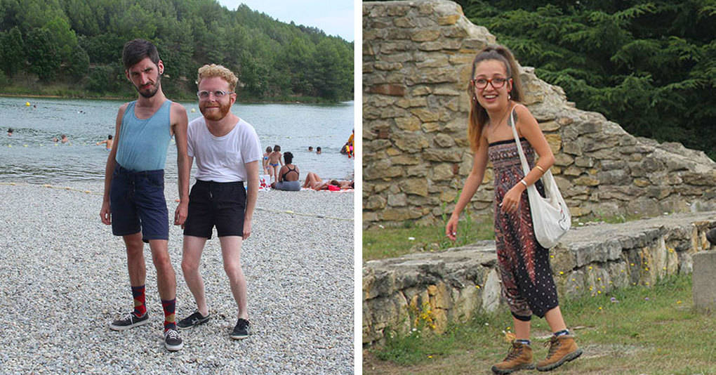 Этот парень был ответственным за отпускные фото, но его друзья получили их в весьма необычном виде