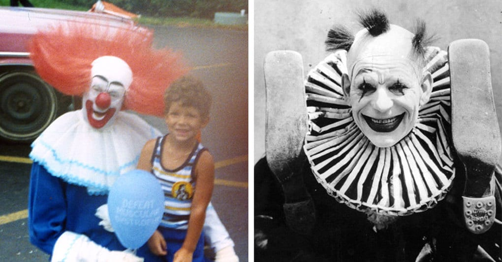 15 жутко милых клоунов, которые еще долго будут приходить к вам в ночных кошмарах