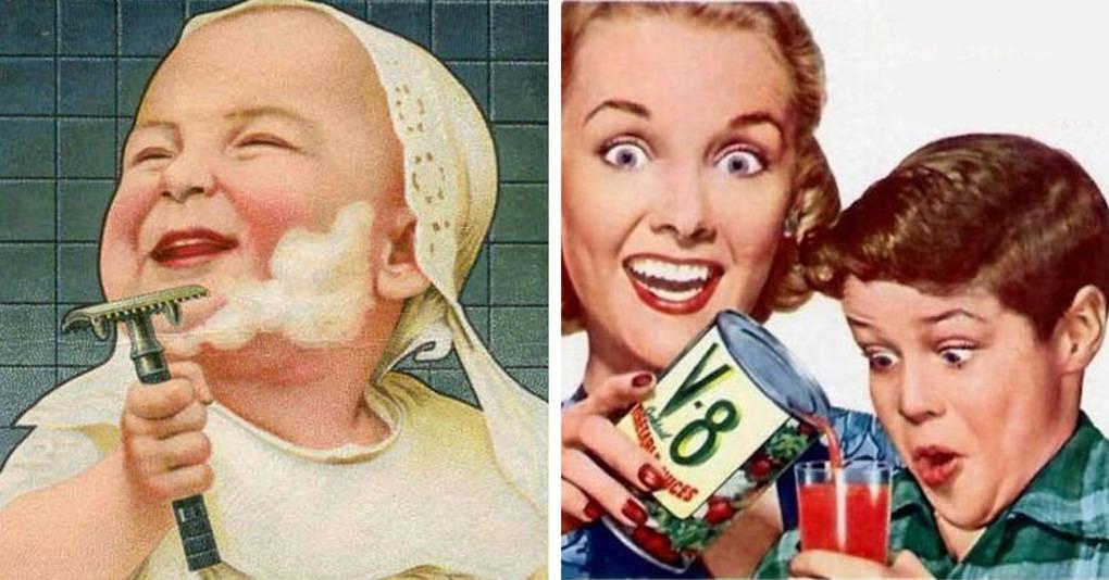 17 примеров странной винтажной рекламы, которую вы сразу же захотите развидеть