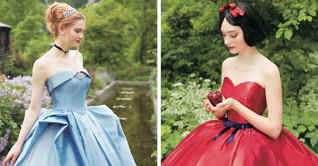 Свадебные платья в стиле диснеевских принцесс, которые доказывают, что невестам не обязательно надевать белое