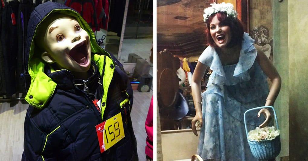 19 необычных манекенов, которые сделают поход в магазин незабываемым