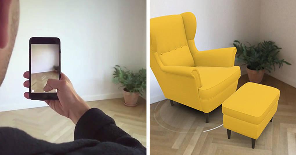 Это новое приложение покажет вам, как будет выглядеть мебель в вашем доме ещё до её покупки!