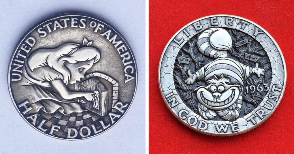 Искусный мастер из России дарит старым монетам новую жизнь, и это что-то восхитительное