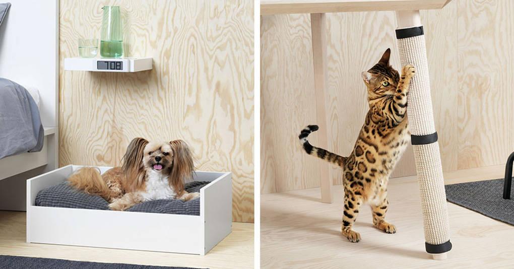 IKEA запустила в продажу новую коллекцию мебели для домашних животных, и вы точно захотите себе всё