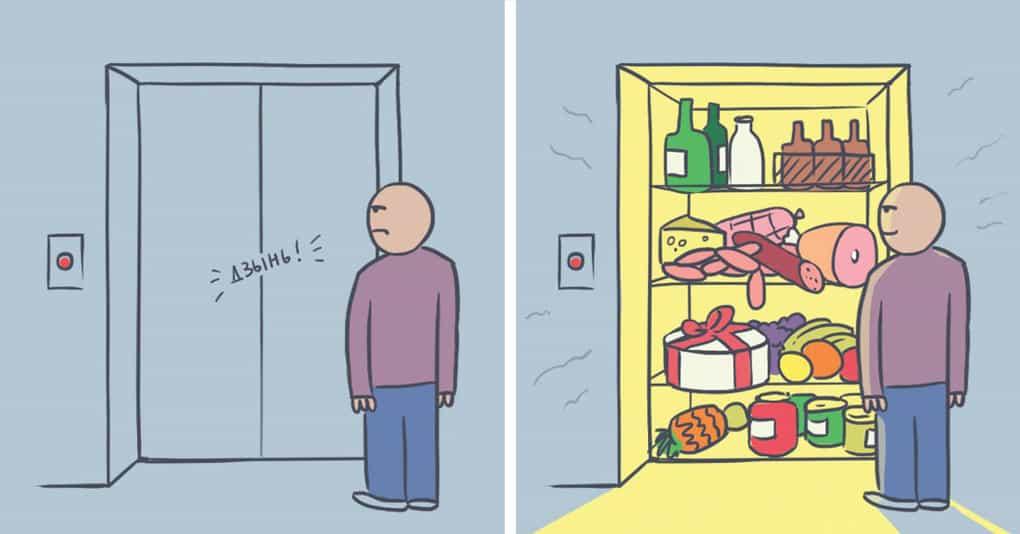 20 абсурдных, но невероятно смешных комиксов, которые поразят вас неожиданными поворотами