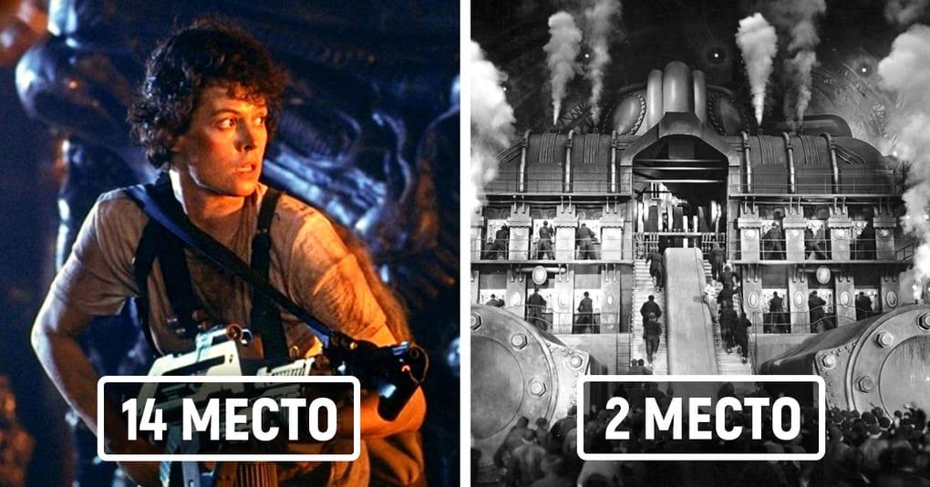 15 лучших фантастических фильмов всех времён по версии авторитетного издания