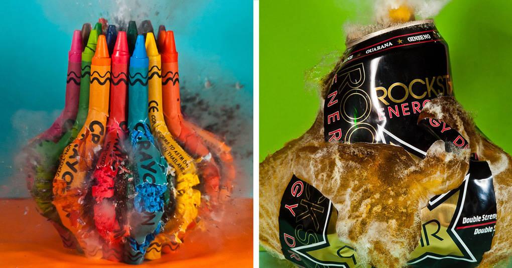 20 красочных фотографий, на которых всё эстетично взрывается