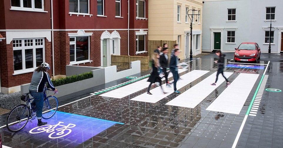 Этот высокотехнологичный концепт безопасного пешеходного перехода по-настоящему поразит вас