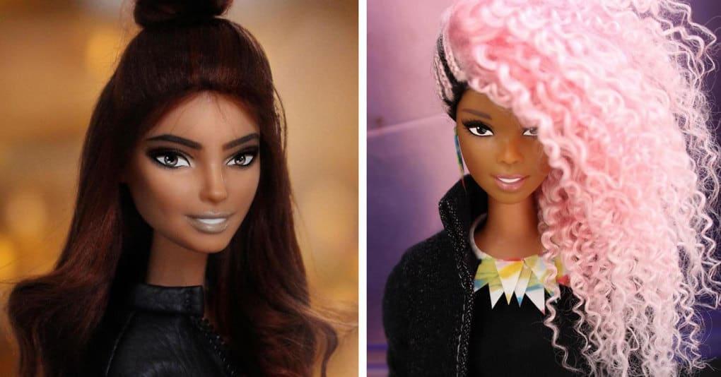 Бразильский стилист создаёт невероятные причёски для кукол, и вы будете поражены этой красотой