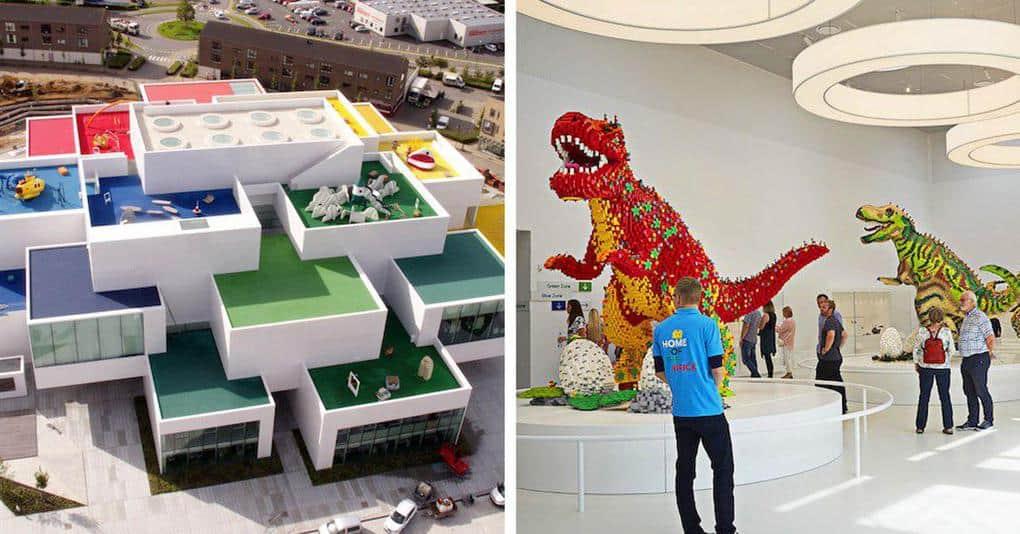 Новый музей LEGO выглядит как огромный конструктор, и здесь вы сможете создавать свои экспонаты