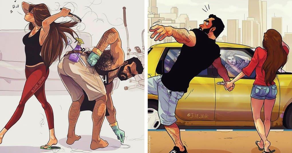 Картинки комиксов на мужчину