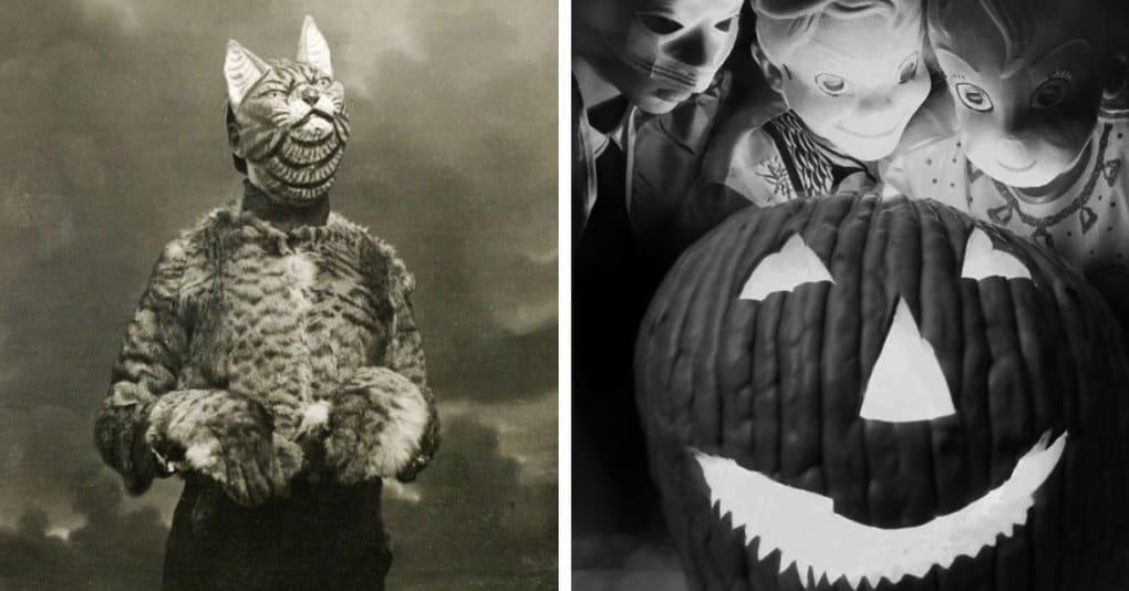 19 винтажных фотографий, которые показывают, насколько жутким раньше был Хеллоуин