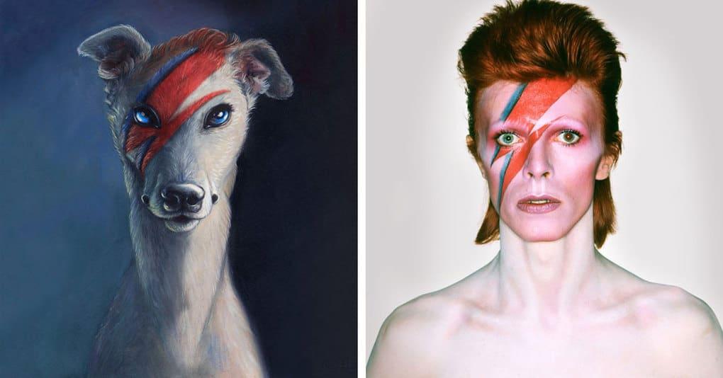 Художница изобразила известных личностей в виде животных, и их сходство просто потрясает