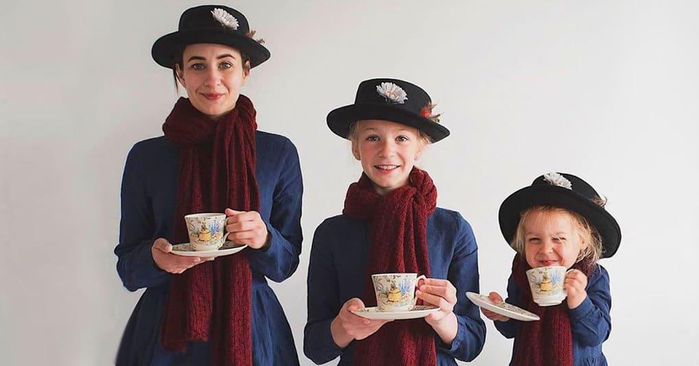 Мама и её милые дочки покоряют интернет своими фото в одинаковых нарядах, и вы сами поймёте почему