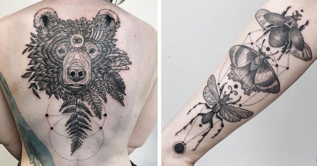 15 фантастических татуировок, которые хочется рассматривать снова и снова