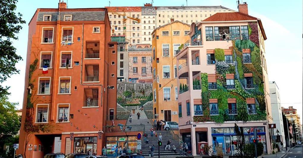 Художники так украсили здание, что вы удивитесь, взглянув на его фото до преображения