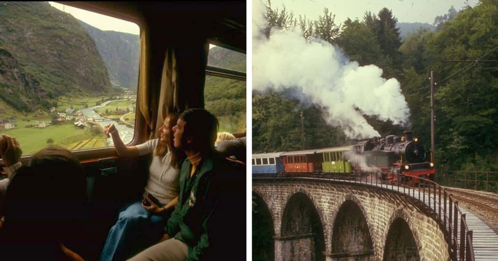 Известный фотограф создал серию снимков о студенческих путешествиях на поезде в 70-х, и она прекрасно передаёт дух авантюризма