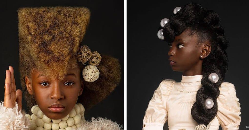 Семейная пара создала фотопроект, чтобы доказать, что афропричёски — это очень красиво и привлекательно, и им это определённо удалось