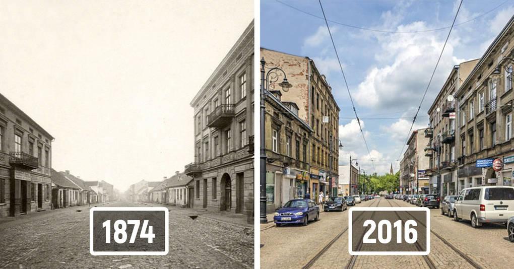 20 фотографий, которые покажут, как изменились города мира за последнее столетие