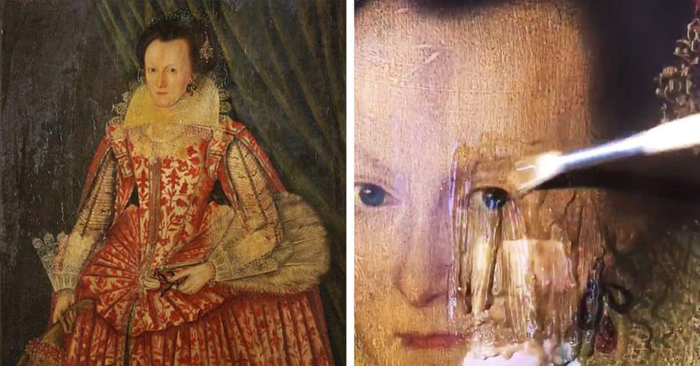 Британский искусствовед снял с картины XVII века 200-летний слой лака, и она предстала миру в совершенно ином виде