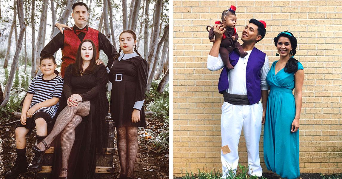 18 креативных семей, которые поразили окружающих своими праздничными костюмами