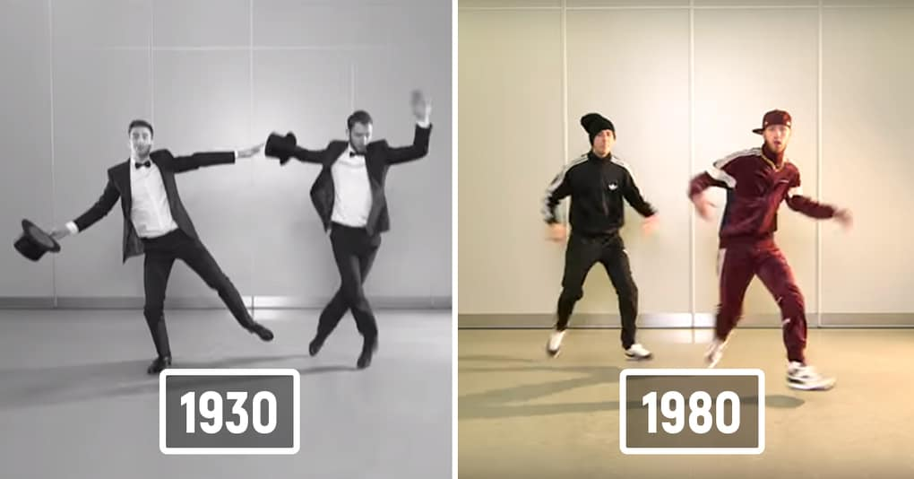 Как менялись популярные танцевальные стили за последние 100 лет