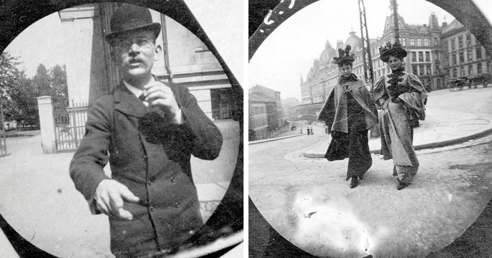 Эти снимки 19-летнего учёного, фотографировавшего прохожих скрытой камерой в 1890-х годах, поразят вас своей атмосферностью
