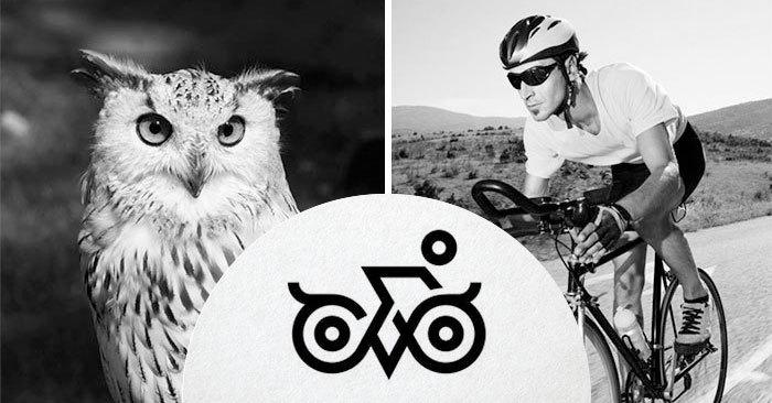 Дизайнер из Индии, сочетая случайные изображения, доказал, что может создать крутой логотип из чего угодно