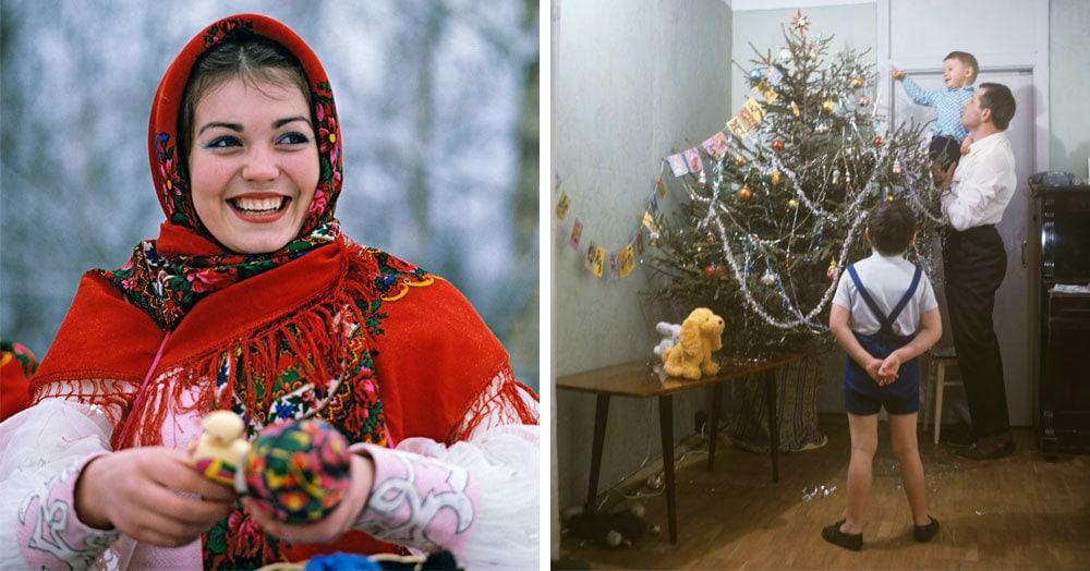 20 новогодних фотографий времён СССР, которые перенесут вас в прекрасное далеко и подарят чудесные минуты ностальгии