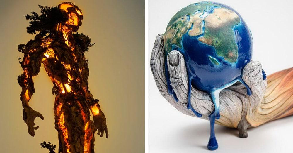 13 художественных объектов, которые показывают, насколько потрясающим может быть современное искусство