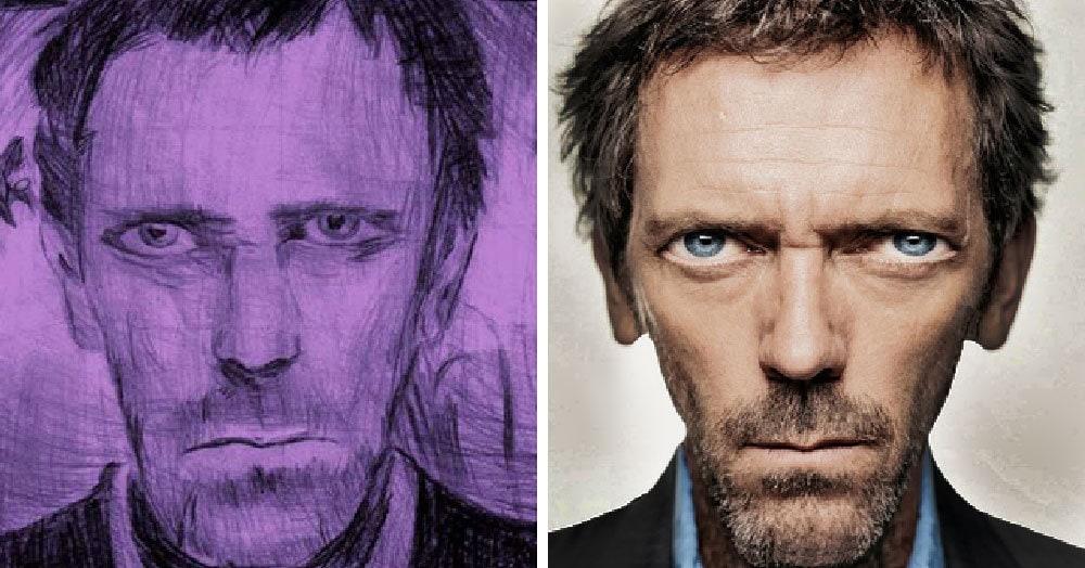 Пользователи интернета представили, как выглядели бы голливудские знаменитости, будь они похожими на рисунки своих фанатов