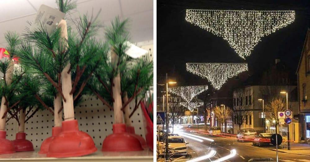 16 новогодних украшений, которые словно призваны испортить это прекрасный праздник