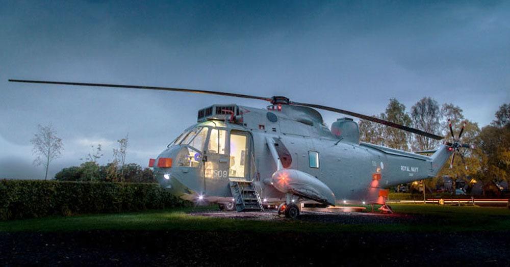 Этот вертолёт был создан для войны, но его судьба круто изменилась, и теперь он приносит людям счастье. И здоровый сон