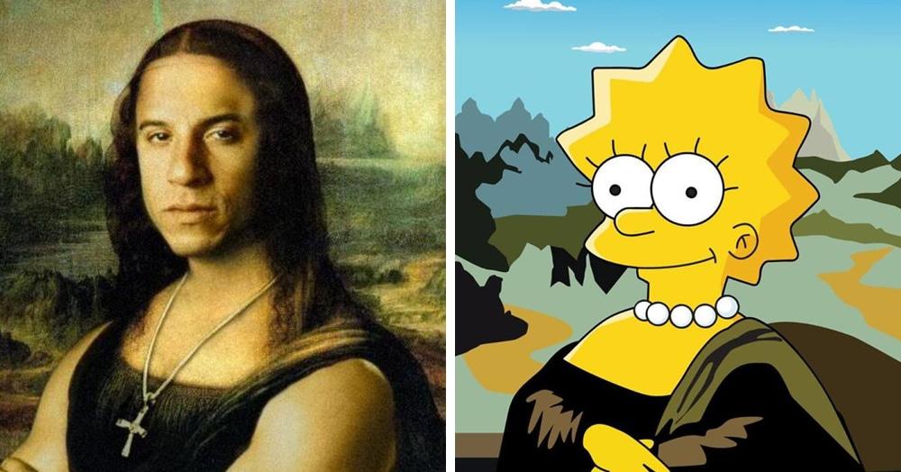 Художники со всего мира создают разные версии Моны Лизы, в которых вы легко узнаете известных персонажей современности. И всем им идёт быть Моной Лизой