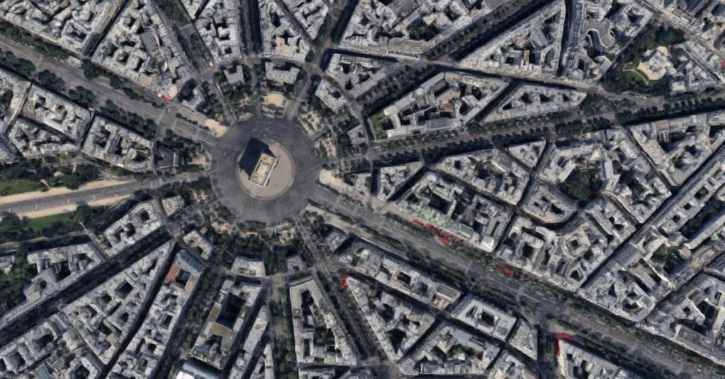 Тест: Угадайте мировую достопримечательность по снимку из космоса